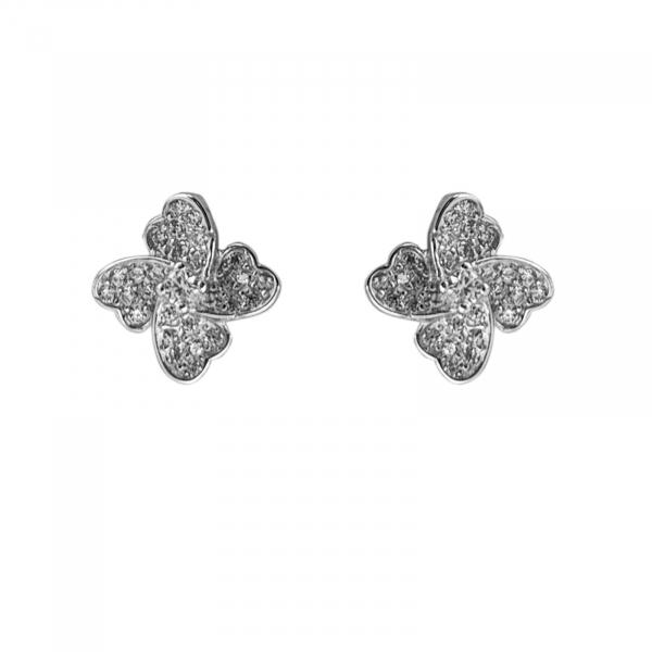 Cercei Argint 925% Hearts4 [0]