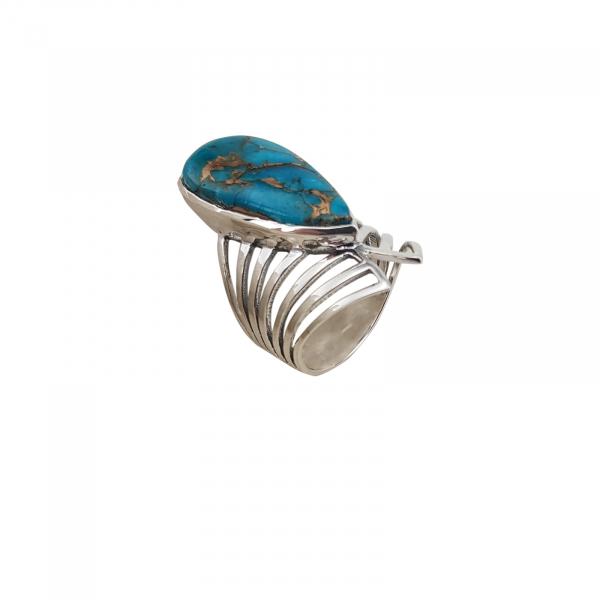 Inel Argint cu turcoaz [1]