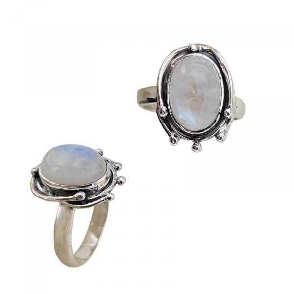 Inel Argint cu Piatra Lunii [0]