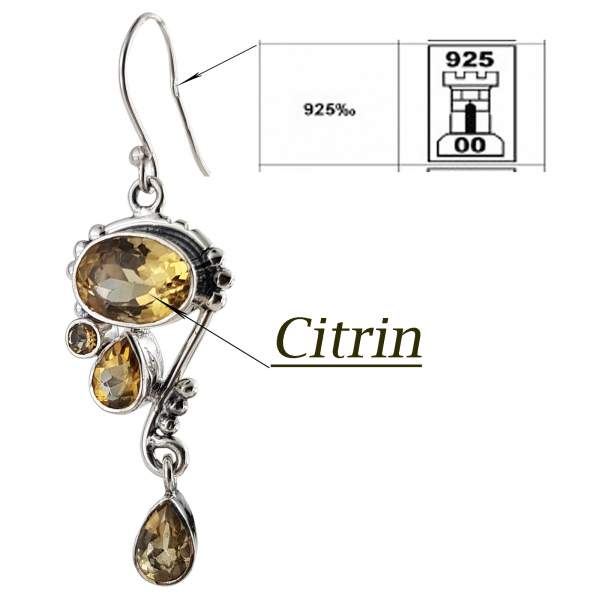 Set Argint 925% Gorgeous Citrine [1]