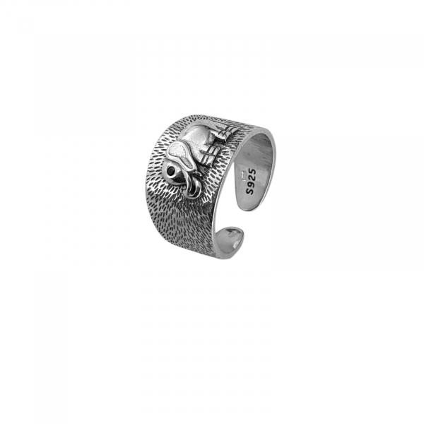 Inel Argint 925% reglabil Jumbo [0]