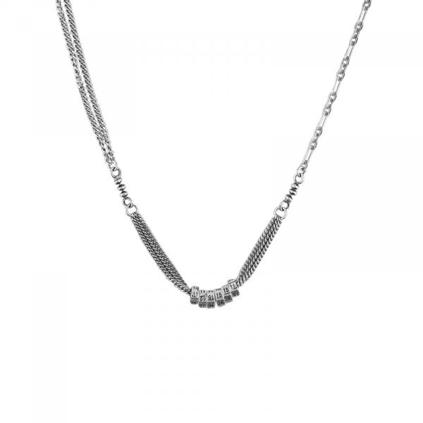 Colier Argint 925% fashion, usor antichizat [0]