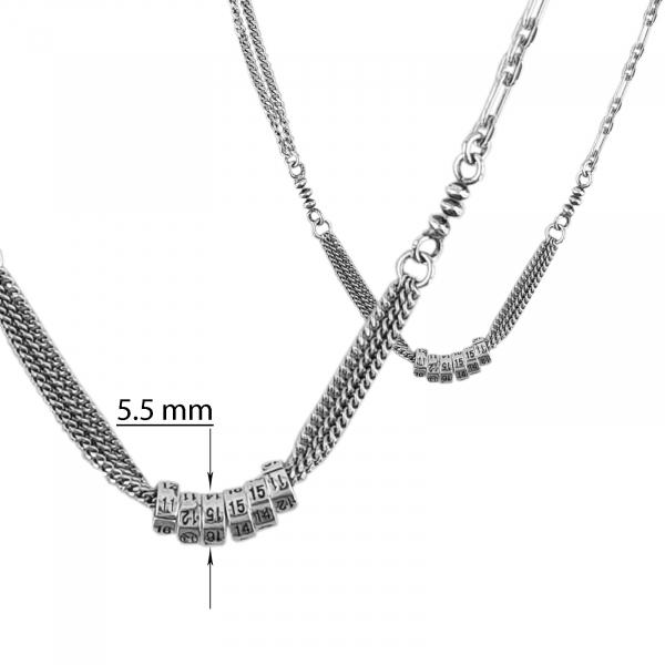 Colier Argint 925% fashion, usor antichizat [2]