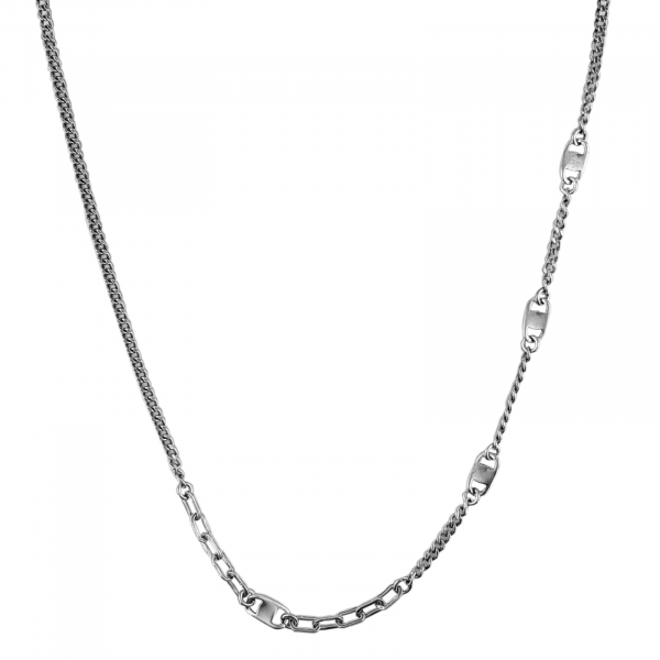 Colier Argint 925% pentru barbati Trendy Chain [0]