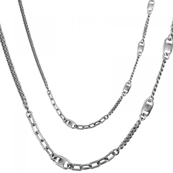 Colier Argint 925% pentru barbati Trendy Chain [1]