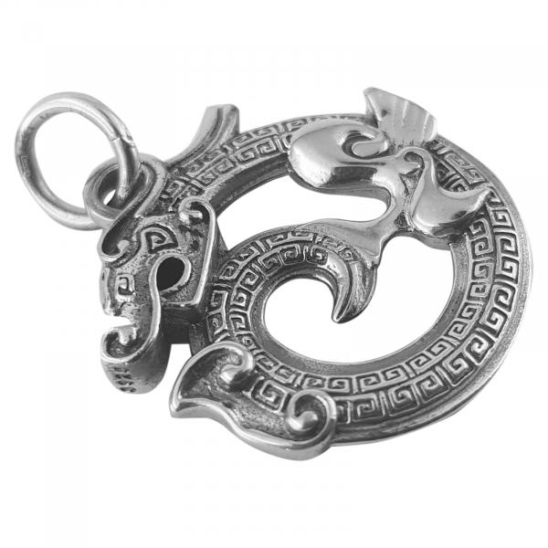 Medalion Argint 925%  FireDrake [1]