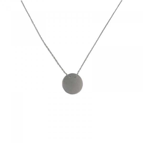 Colier Argint 925% cu banut de 20mm [0]