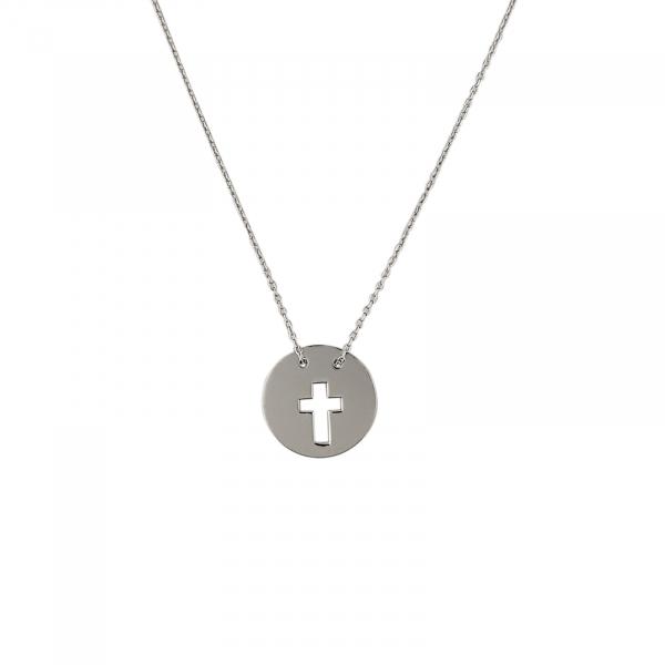 Colier Argint 925% Circle Cross [0]