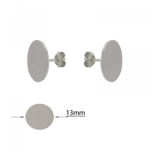 Cercei Argint 925% de 13mm [1]