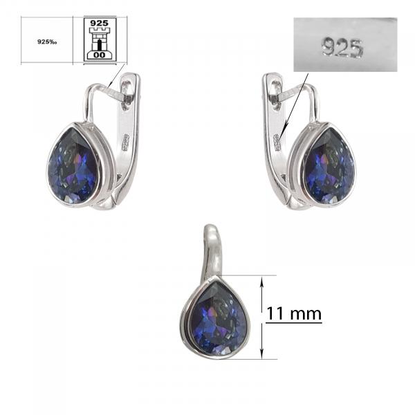 Set Argint 925% Ink-Blue [1]