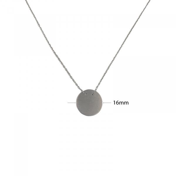 Colier banut din Argint 925% cu diametrul de 16mm-1925 [1]