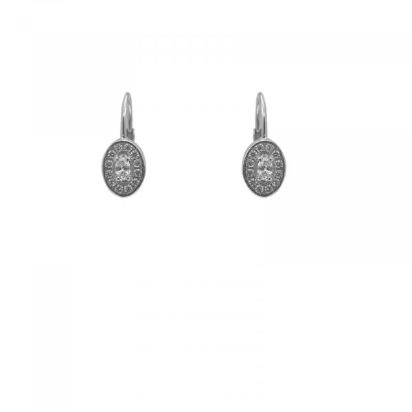 Cercei Argint 925% ovali [0]