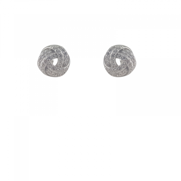 Cercei Argint 925% cu zirconia albe [0]