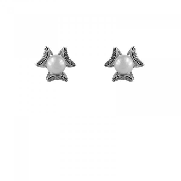 Cercei Argint 925% cu Perla de Mallorca centrala [0]