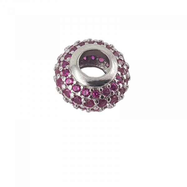 Talisman Argint 925% Ruby Ring [0]