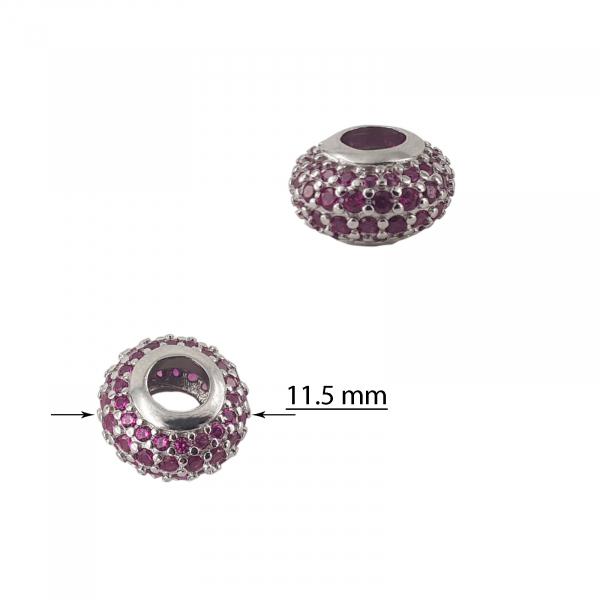 Talisman Argint 925% Ruby Ring [1]
