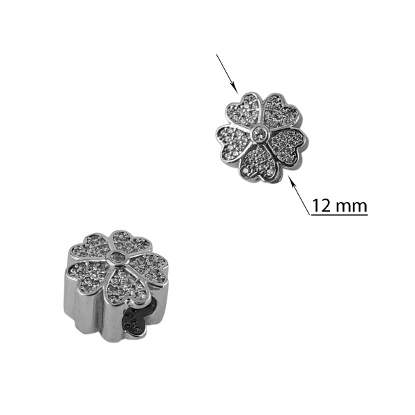 Talisman Argint 925% White Flower [1]