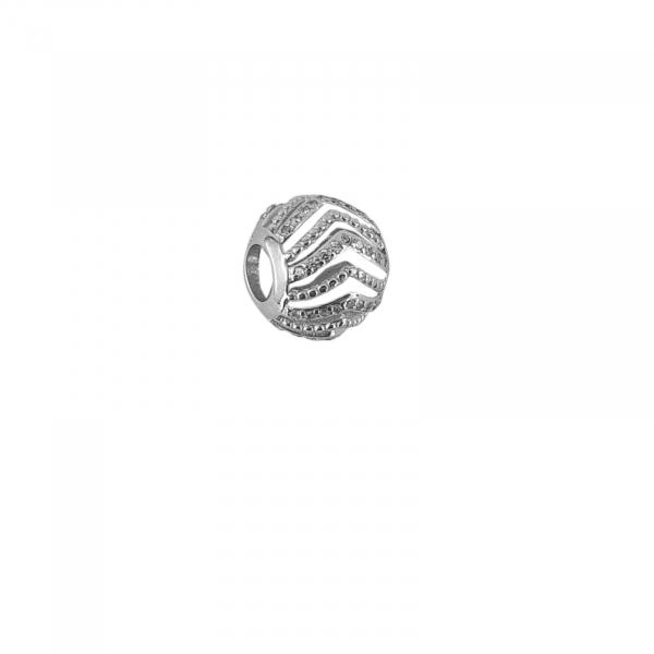Talisman Argint 925% cu CZ albe [0]