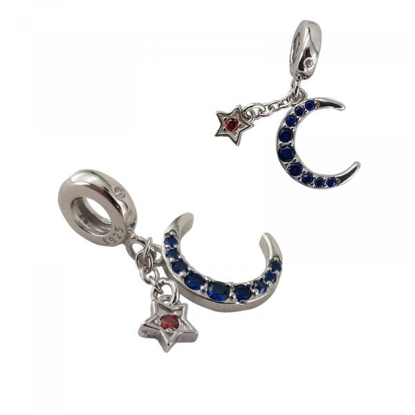 Talisman Argint 925% Blue Moon [1]