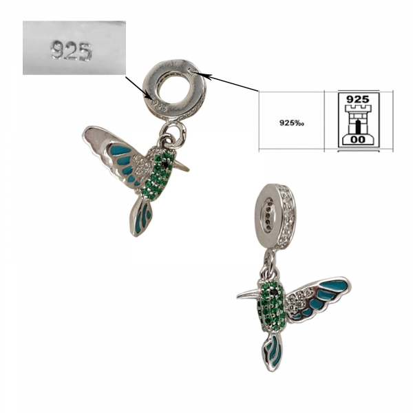 Talisman Argint 925% Fly Bird [2]