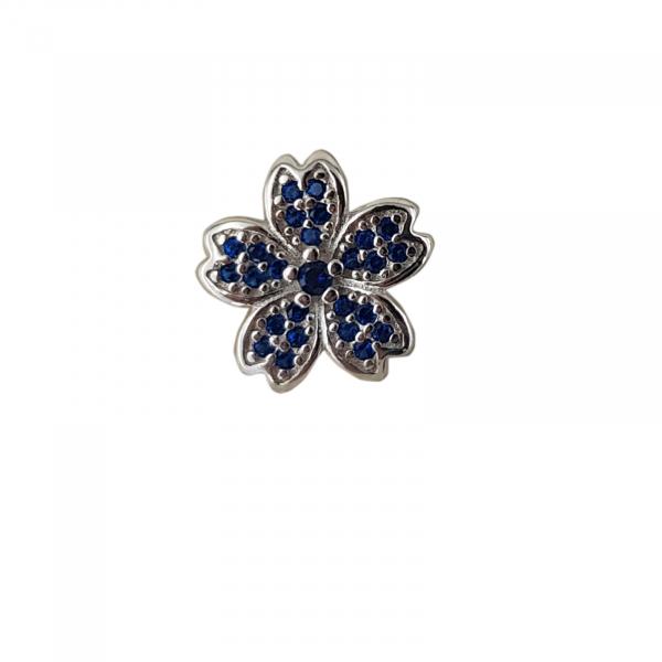 Talisman Argint 925% Blue Flower [0]