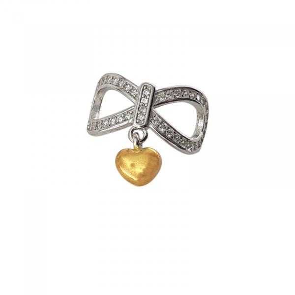 Talisman Argint Golden Heart [0]