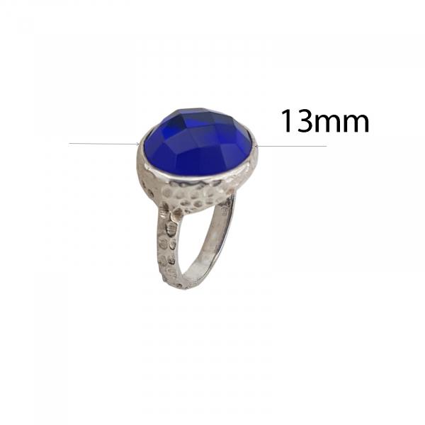 Inel Argint cu Zirconia InkBlue, cod 2330-INK [3]