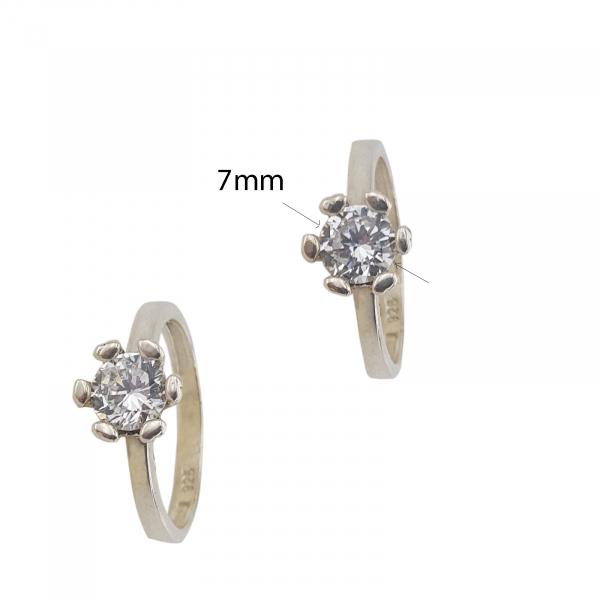 Inel logodna Argint 925% ,model 2134 [1]