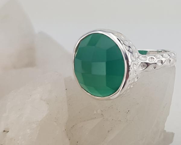 Inel Argint cu Onix verde cod 2330-ONXV [3]