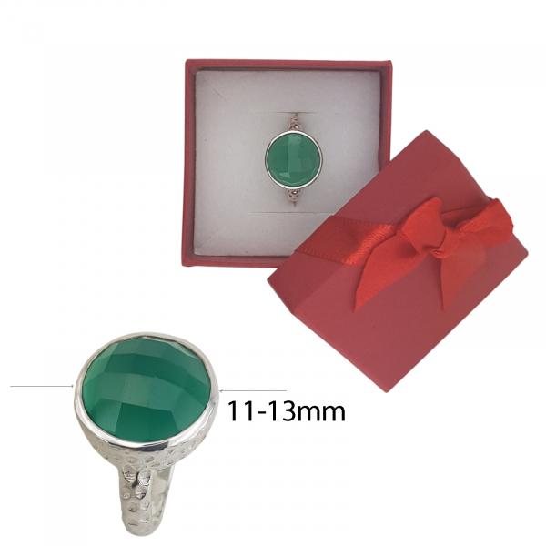 Inel Argint cu Onix verde cod 2330-ONXV [4]