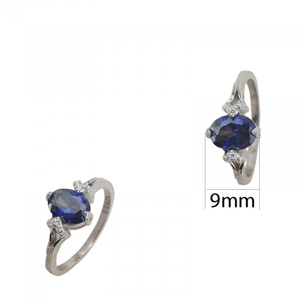 Inel Argint cu tanzanit, cod 2443 [1]