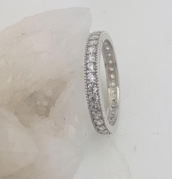 Inel Argint 925% cu multiple zirconia albe, cod 1935 [2]
