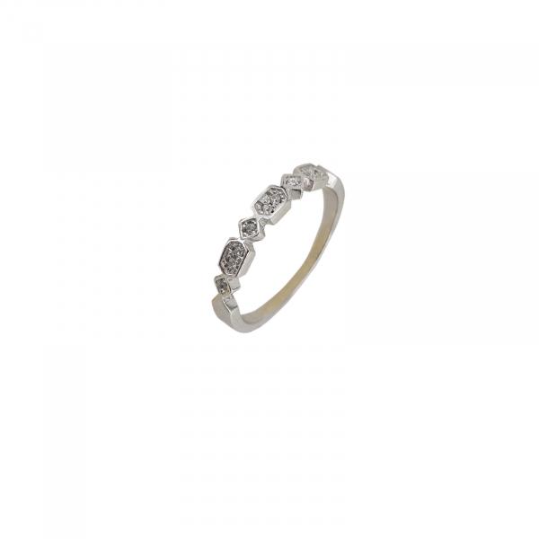 Inel Argint 925% cu zirconiu alb 2137 [0]