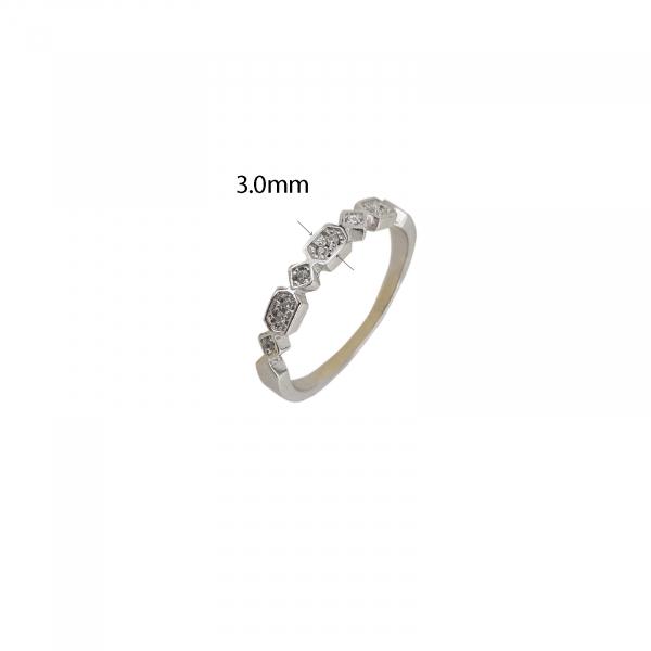 Inel Argint 925% cu zirconiu alb 2137 [1]