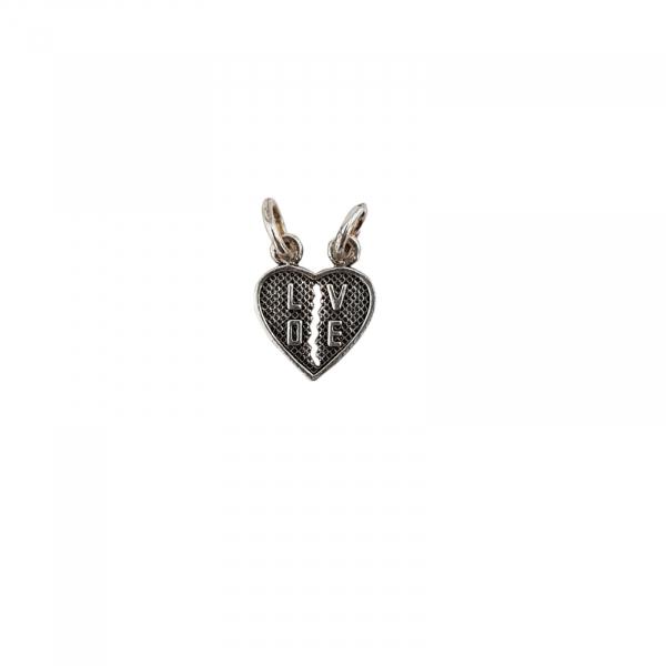 Medalion Argint 925% , inimioara 2119B [0]