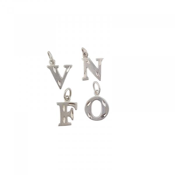 Medalion Argint 925% initiala O,model 2108O [1]