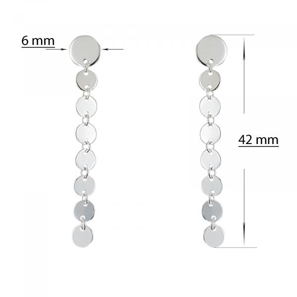 Cercei Argint 925% Shining Circles [1]
