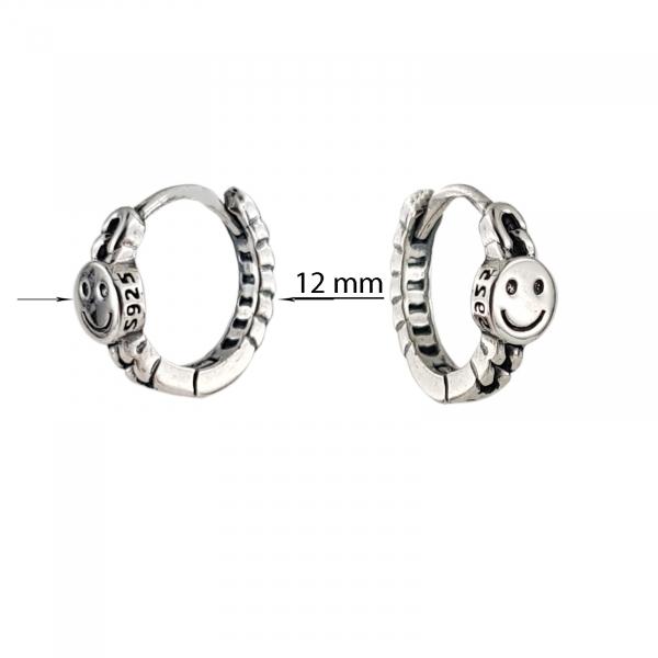 Cercei Argint 925% Smiling Link [2]