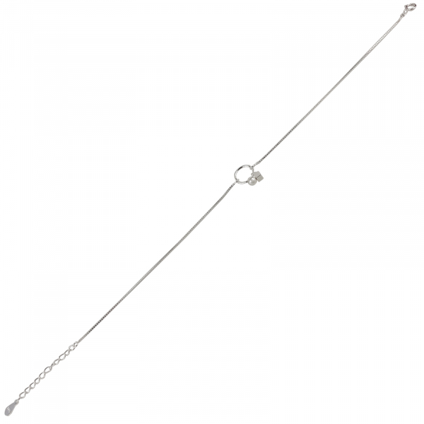 Bratara picior Argint 925% Dangling Circle [2]