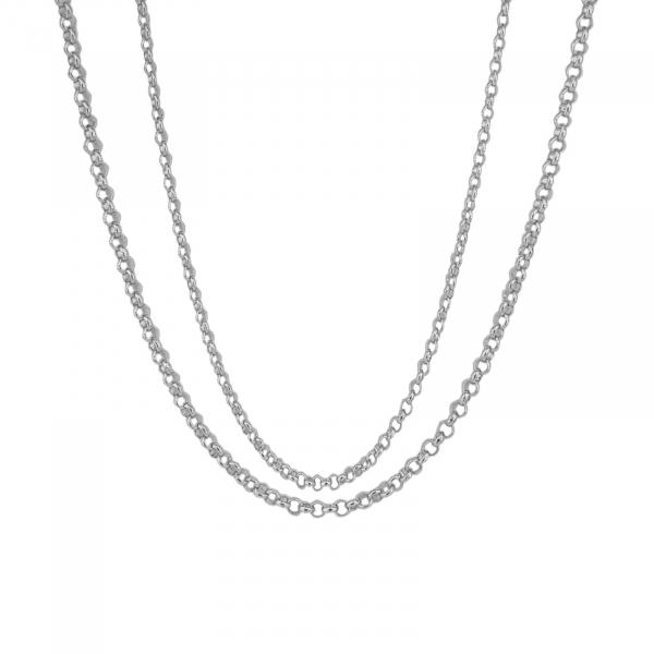 Lant Argint 925% cu zale rotunde de 3,5 mmm [1]