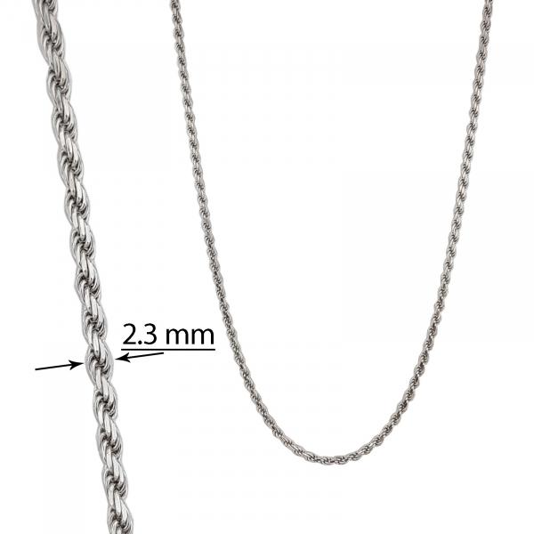 Lant Argint 925% impletit si placat cu rodiu [2]