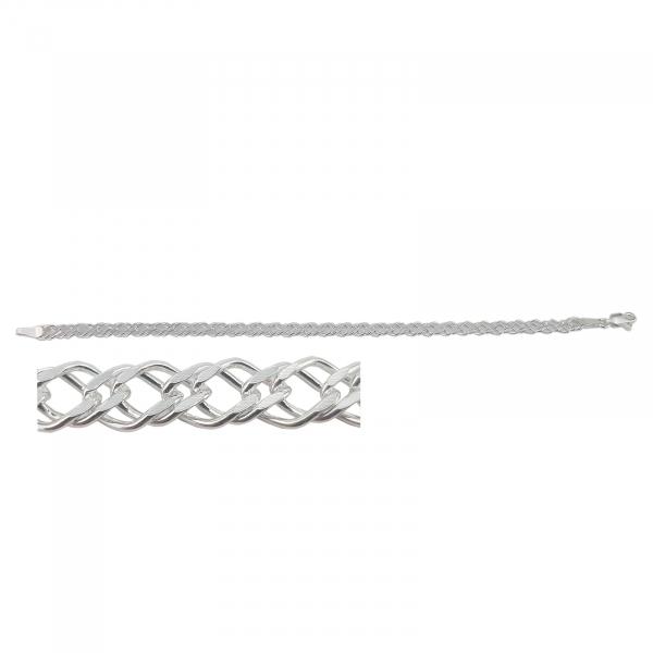 Bratara Argint 925% model Doppia Rombo 1951-21-55 [1]