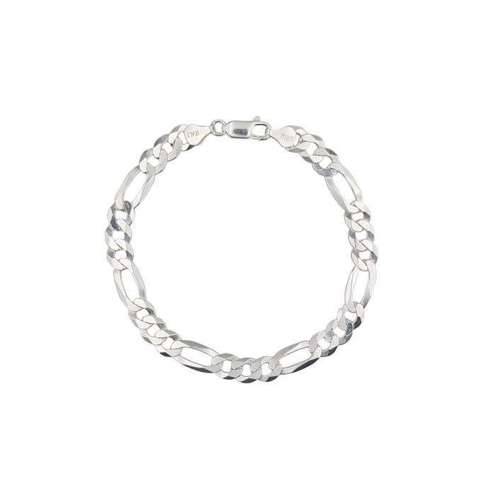 Bratara Argint model Figaro-flat, model 2353 [0]