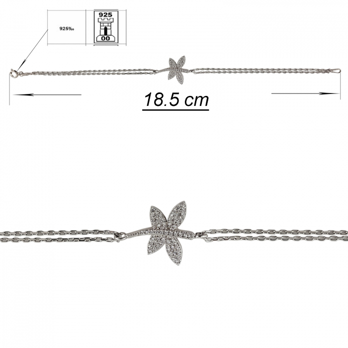 Bratara din Argint 925%  Shiny Wing [2]