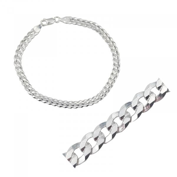 Bratara din Argint 925% ,grumetta flat 2000-22-35 [0]