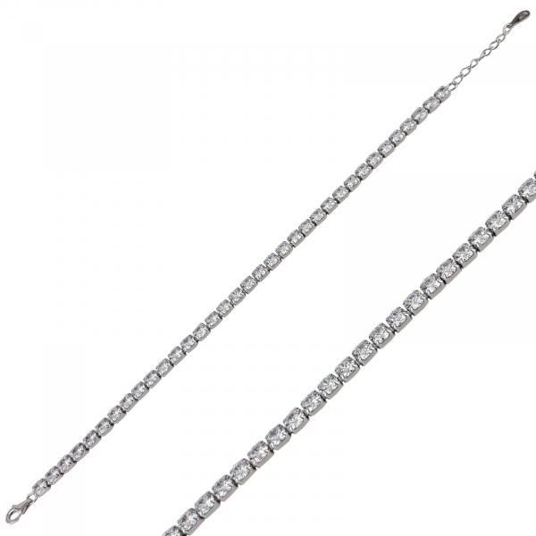 Bratara Argint 925% Trendy White [1]