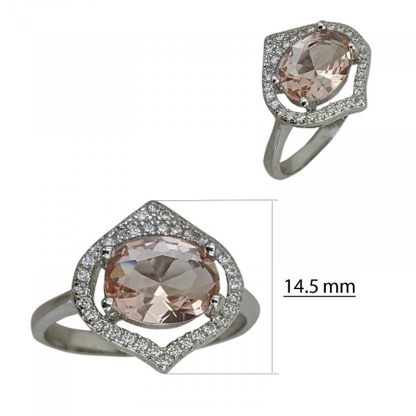 Inel Argint 925% cu zirconii [2]