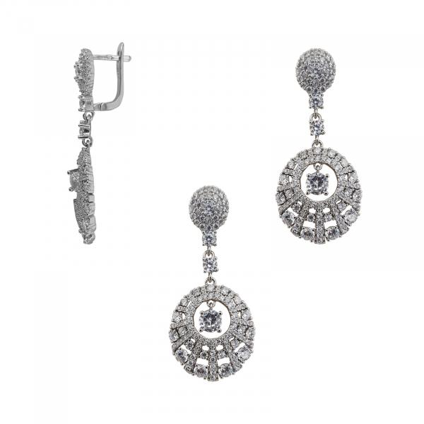 Set elegant Argint 925% cu zirconii albe [1]