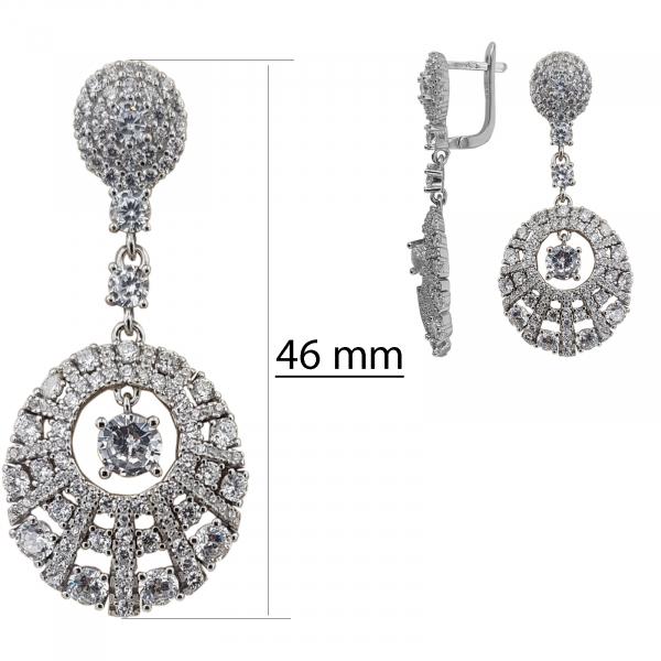Set elegant Argint 925% cu zirconii albe [2]