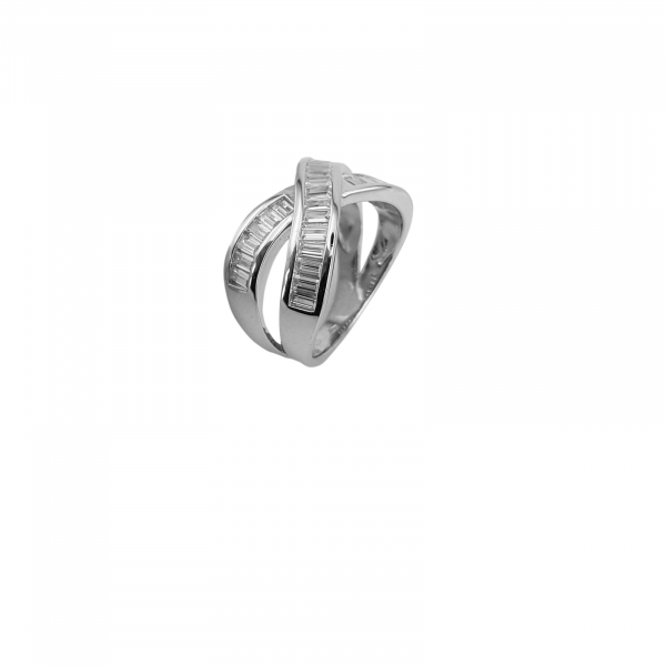 Inel Argint 925% cu zirconii albe [1]
